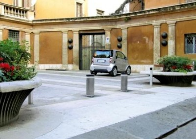 BORNES ESCAMOTABLES HYDRAULIQUES VIGILO 2250 - Accès parking privatif