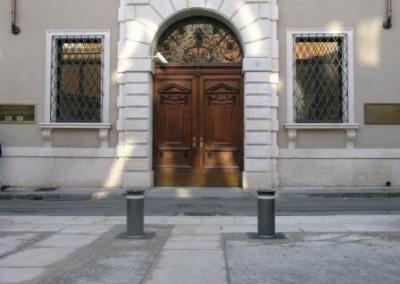 BORNES ESCAMOTABLE HYDRAULIQUES VIGILO 2250 - zones piétonnes