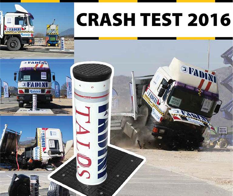 LA BORNE ESCAMOTABLE FADINI TALOS M50 CERTIFIEE AU CRASH TEST ASTM F2652-15 C750