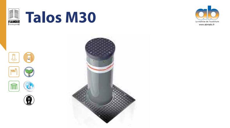 Borne escamotable hydraulique automatiqueTalos M30